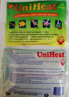 72 Hour Heat Packs - 50 Pack