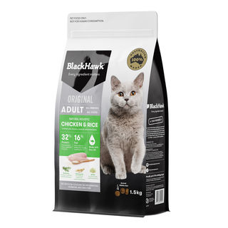 Black Hawk Cat Chicken and Rice 1.5kg