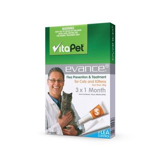 VitaPet Evance, Flea Treatment for Cats Under 4kg