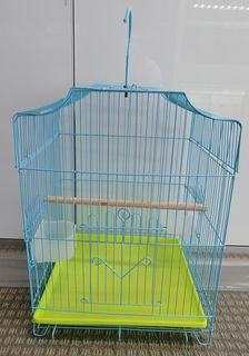 Bird Cage - Small Blue