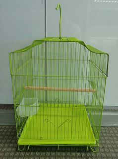 Bird Cage - Small Green