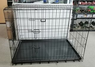 Collapsible Dog Metal Crate/Cage - 42