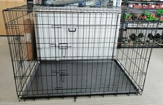 Collapsible Dog Metal Crate/Cage - 48