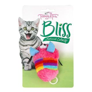 Trouble and Trix Bliss Catnip Vibrating Mouse