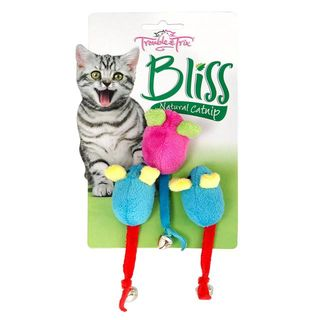 Trouble and Trix Bliss Mice 3 pack