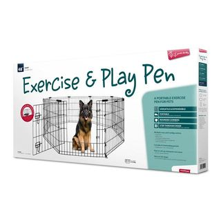 Yours Droolly Exercise Pen with Door 48