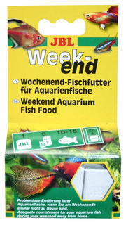 JBL Holiday, Weekend complete food for aquarium fish - 4pk (20g)