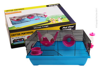 Critter Penthouse Mouse Cage