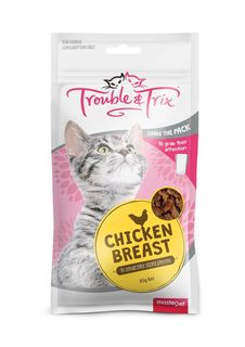 Trouble and Trix Treat Chicken Breast 85g