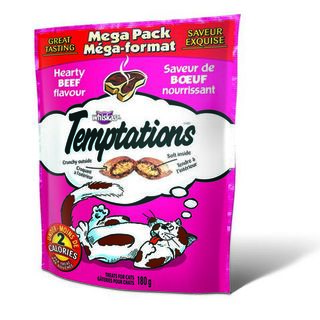 Whiskas Temptations - Hearty Beef 180g