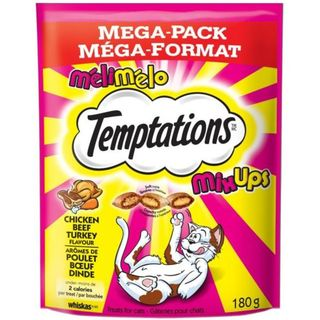 Whiskas Temptations - Mixups Chicken, Beef & Turkey 180g