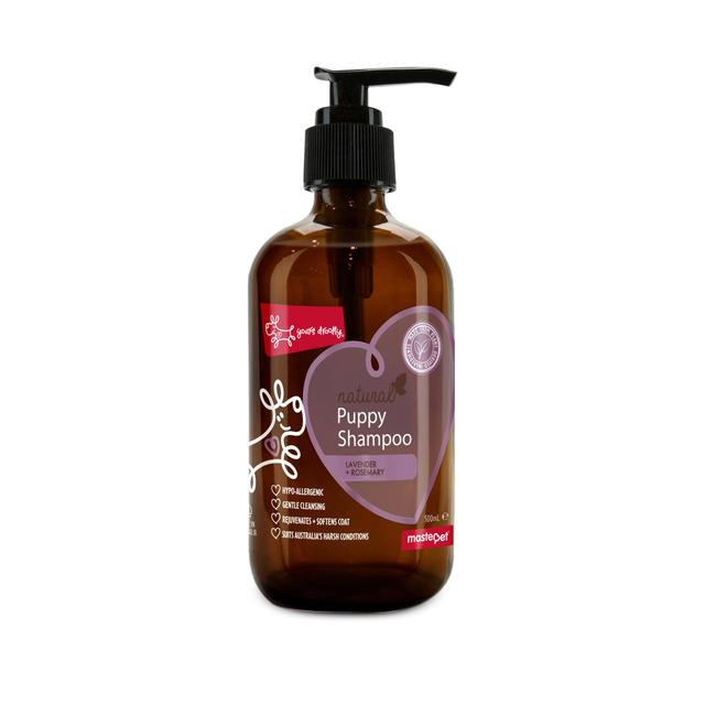 Yours Droolly Natural Puppy Shampoo - Lavender & Rosemary 500ml