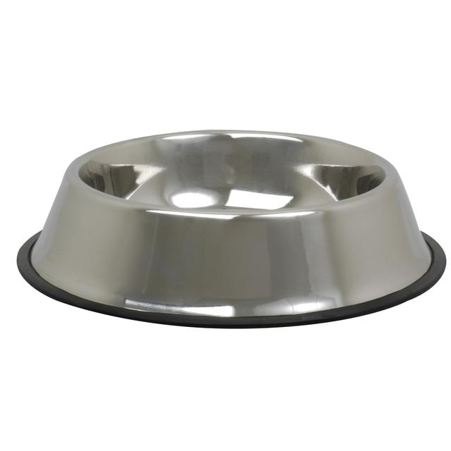 Stainless Steel Non Slip Dog Bowl 18cm